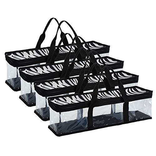 - Fasmov Set of 4 CD Storage Bags Hold up to 192 CD's (48 Each Bag)