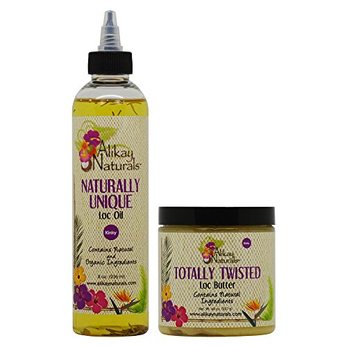 Alikay Naturals Loc Oil & Loc Butter 8oz (Loc Set)
