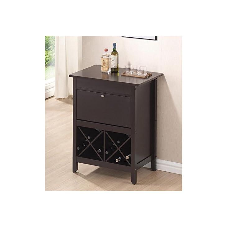 Baxton Studio Tuscany Dry Bar and Wine Cabinet