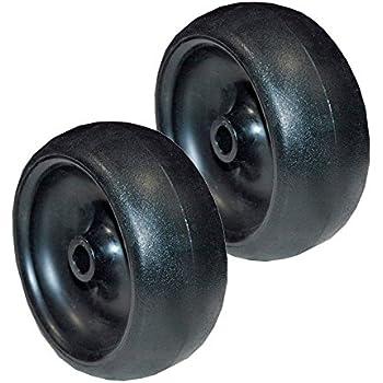 Amazon.com: Conjunto de 2 cubierta para cortacésped rueda ...