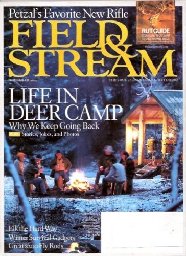 Vintage Field and Stream Magazine - November, 2003