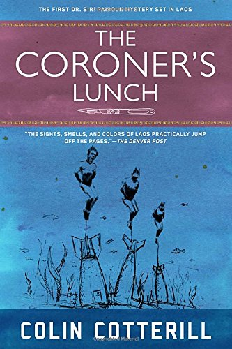 Book cover for The Coroner's Lunch