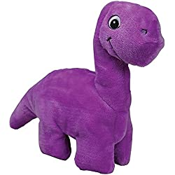 Smart Pet Love - Tender-Tuffs - Comfort - Tough Dog Toy - Proprietary TearBlok Technology - Purple Dino