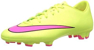 best service 10c5c 46501 Amazon.com | Nike Mercurial Victory V FG Volt-Hyper Pink ...