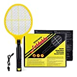 Seekavan Fly Zapper, Fly Swatter Foldable USB Rechargeable Bug Zapper Electric Mosquito Zapper Racket for Home,Outdoor,Garden,Office