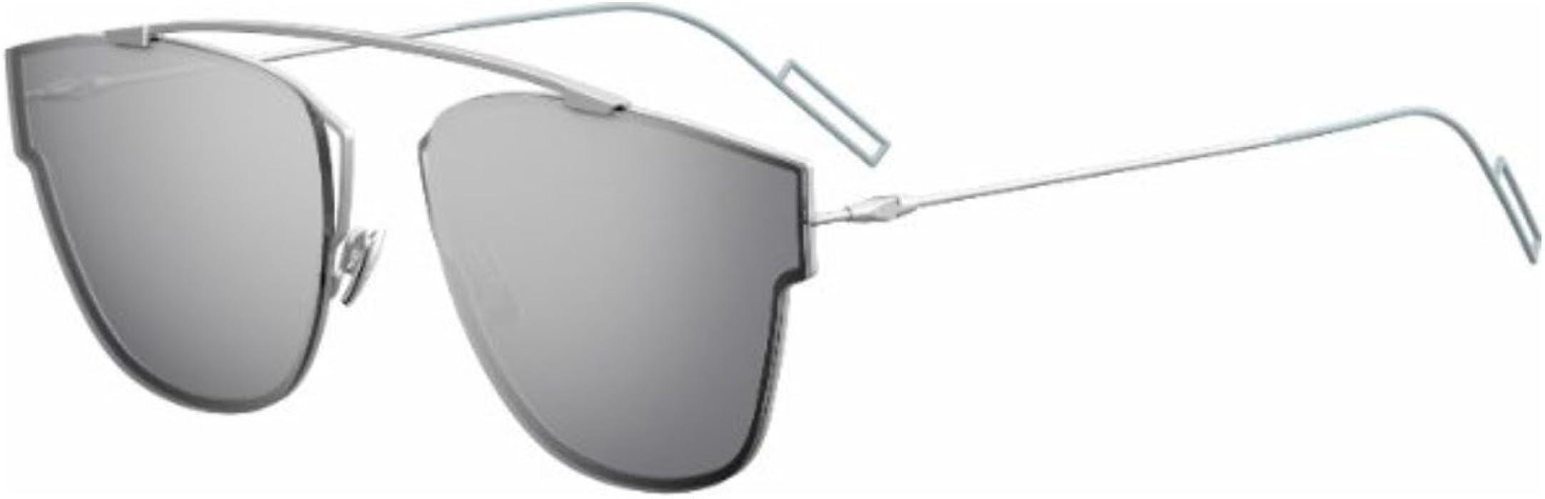 a4b6092a03cd1 Christian Dior 0204 S Sunglasses Matte Palladium Silver Mirror