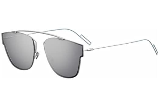 55e53ecfcf56 Image Unavailable. Image not available for. Color  Christian Dior 0204 S  Sunglasses Matte Palladium Silver Mirror