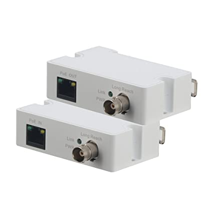 EOC Converter IP Over Coax max 3000ft POE Power and Data Transmission Over Regular RG59 coaxial