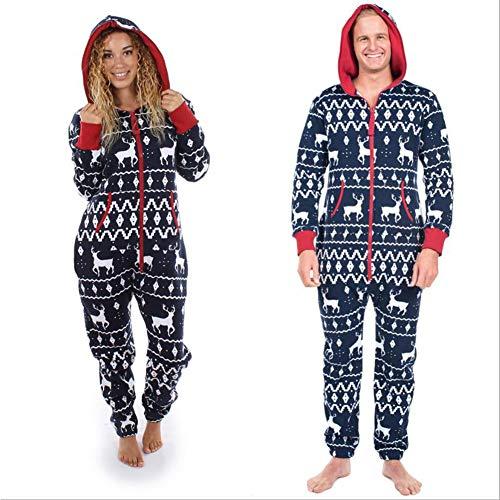 GYH Winter Couple wear Plus Size Home Pajamas One Piece Adult Onesie Mens Women Superman Jumpsuit Sleepwear,XXL]()