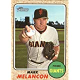 2017 Topps Heritage High Numbers #630 Mark Melancon San Francisco Giants Baseball Card