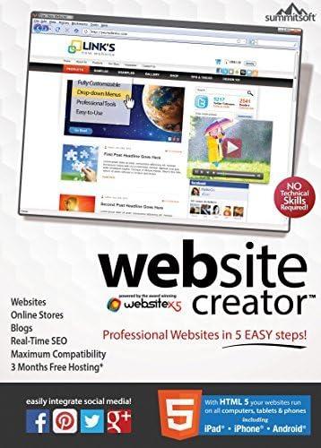 B00WRIJ67G Website Creator v9 [Download] 51SGe3Z6y3L