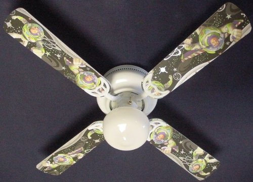 Buzz Lightyear Decor - Ceiling Fan Designers Ceiling Fan, Buzz Lightyear, 42