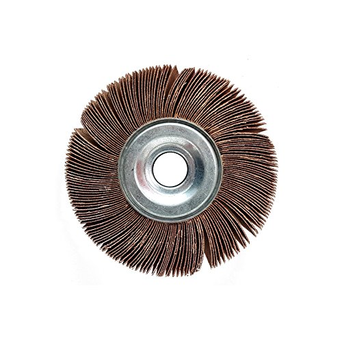 6 Dia. Taipan Abrasives TO-5412  Original Aluminum Oxide Unmounted Flap Wheel 1-1//2 Width 1-1//2 Width 1 Arbor 1 Arbor 6 Dia 60 Grit