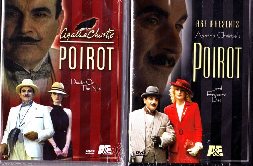 Poirot Death On The Nile , Poirot Lord Edgware Dies : Agatha Christie Mystery 2 Pack Collection