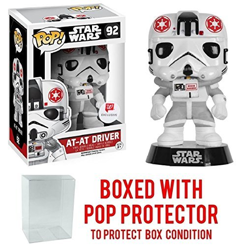Funko Pop  Star Wars  At At Driver  92  Walgreens Exclusive  Vinyl Figure  Bundled With Pop Box Protector Case