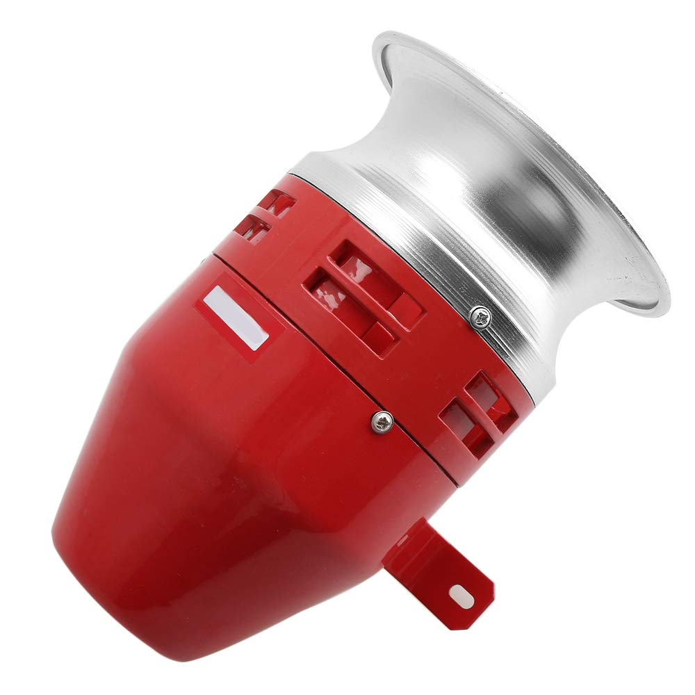 BQLZR Rouge 220 V CC Mé tal Ms-390 125 dB Super souffleur de son Alarme son Moteur Siren Signal Transit Outil industriel