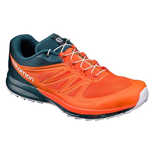 Salomon Tenis Hombre Trail Running Correr Sense Pro2 Naranja Talla 29.5