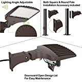 LED Parking Lot Lighting with Photocell,200W