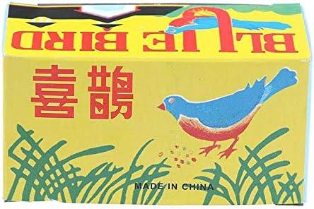 LotCow Vintage Wind Up Pecking Bird Clockwork Tin Toy Funny Clockwork Wind Up Metal Jumping Party Favor Tog Gift for Kids Children