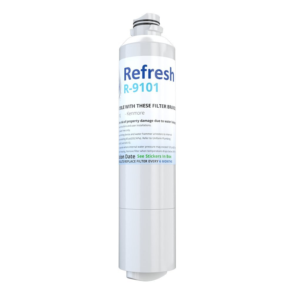 Refresh Replacement for Samsung DA29-00020A, DA29-00020B, HAF-CIN/EXP, 46-9101 Refrigerator Water Filter (1 Pack)