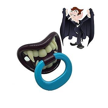 Amazon.com: Funny Halloween Vampire - Chupetes para bebé ...