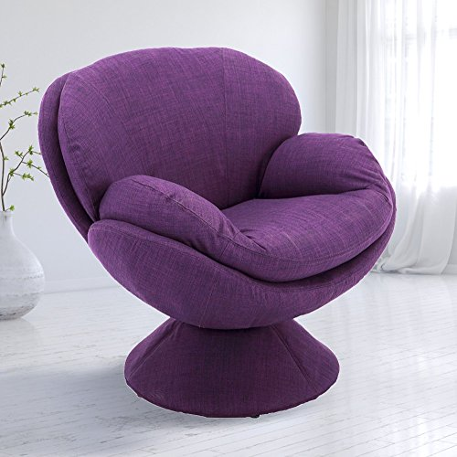 Padded Seat Lounge Chair - Comfort Chair pub-170-uph Mac Motion Pub Leisure Accent Fabric Chair, One Size, Purple