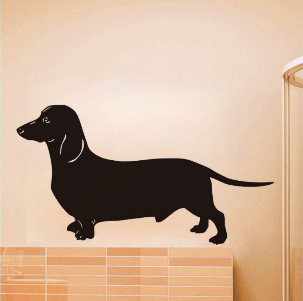 mural Dachshund vinilo pegatinas de pared perro decoración para el ...