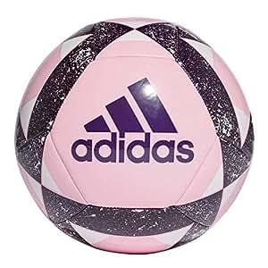 adidas Starlancer V Soccer Ball, Hombre, True Pink/Legend Purple/White, 5