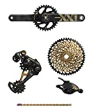 SRAM XX1 Eagle Dub 6-Piece Groupset, Gold (175mm Boost, Without Bottom Bracket)