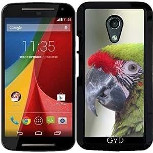 Funda para Motorola Moto G (Generation 2) - Loro by WonderfulDreamPicture