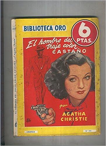 Biblioteca Oro serie Amarilla de 6 pts numero 218: El hombre ...