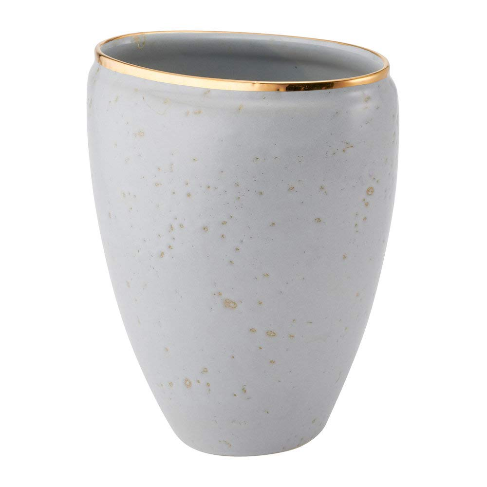 AERIN Paros Ceramic Vase - Dusk