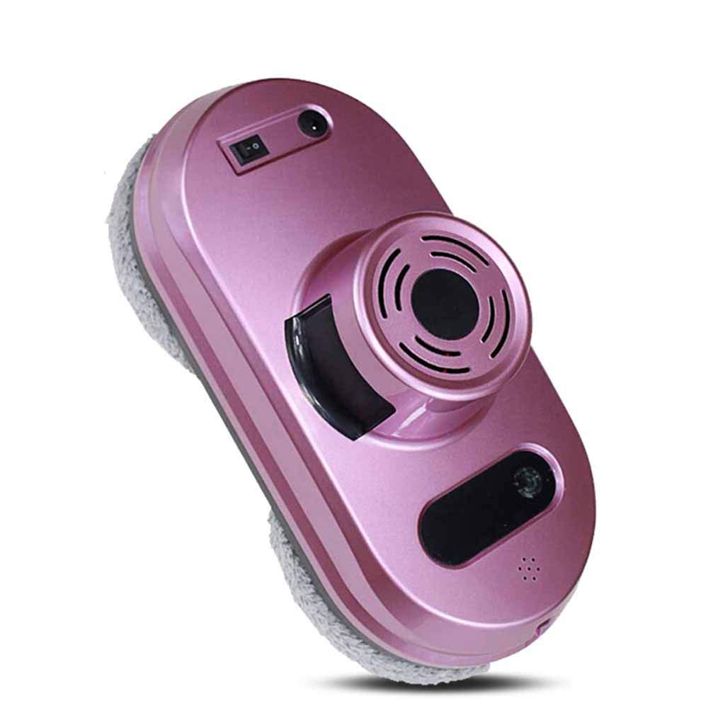 Home Window Cleaning Robot 3 Cleaning Routes Remote Controlled Glass Cleaner Tool Inside Outdoor High Window Glass Table Tile (Pink,Purple),Purple