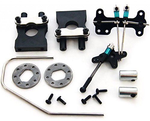 [Kyosho Inferno GT2 Nitro BRAKE & SERVO LINKAGE & CENTER DIFFERENTIAL MOUNTS] (Kyosho Center Differential)