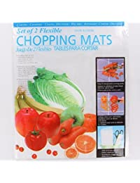 CheckOut 8X Flexible Chopping Mats Kitchen Plastic Fold Collapsible Chop Cutting Board online
