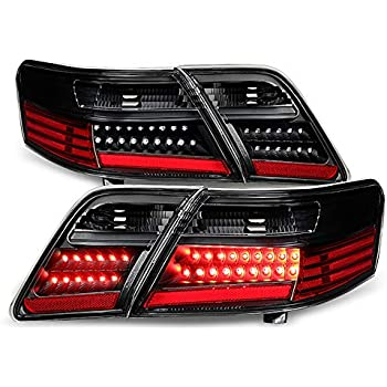 Fit For  06 07 08 09 LEXUS IS250 IS350 EURO SMOKE LED TAIL LIGHTS TRUNK 4 PIECES
