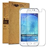 Heartly Protective 2.5D 0.3mm Pro 9H Hardness Toughened Tempered Glass Screen Protector For Samsung Galaxy J1 Ace SM-J110