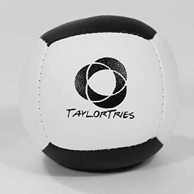 Zeekio Taylor Tries Signature Juggling Ball - (1) Beginner 6 Panel Ball: Toys & Games