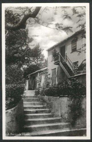 A Bermuda Home 1935 postcard