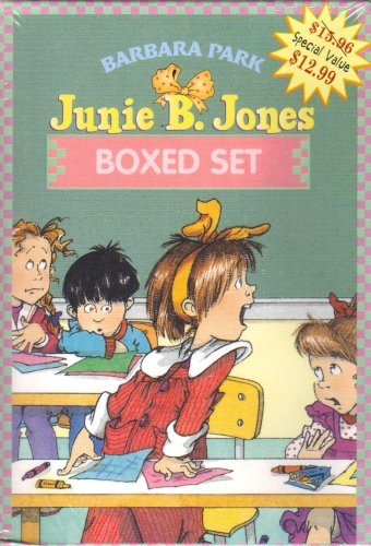 Junie B. Jones Boxed Set - 4 books: Junie B. Jones and a Little Monkey Business; and the Yucky Blucky Fruitcake; and the Stupid Smelly Bus, and Her Big Fat Mouth pdf epub