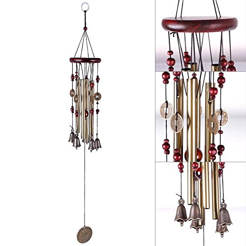 Keyzone Novelty 1 Pc Outdoor Living Wind Chimes 65cm Beautiful
