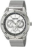 Kenneth Cole REACTION Men's 10030937 Sport Analog Display Japanese Quartz Silver Watch
