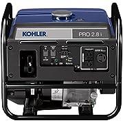 KOHLER 2,800-Watt Gasoline Powered Portable Inverter Generator