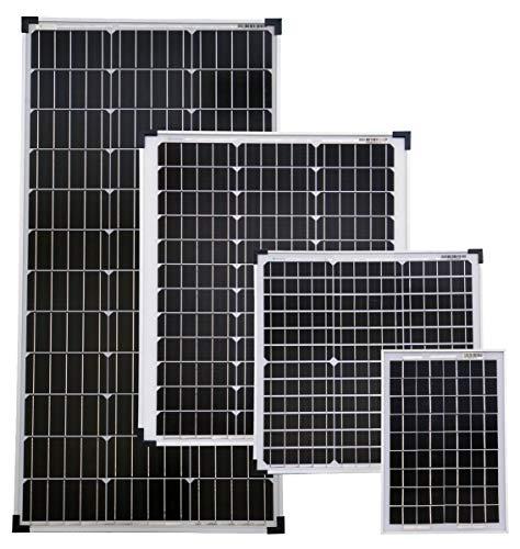 solartronics Solarmodule Monokristallin Photovoltaik TÜV geprüft in verschiedenen Größen Nennleistung Pmax 10 W +3%
