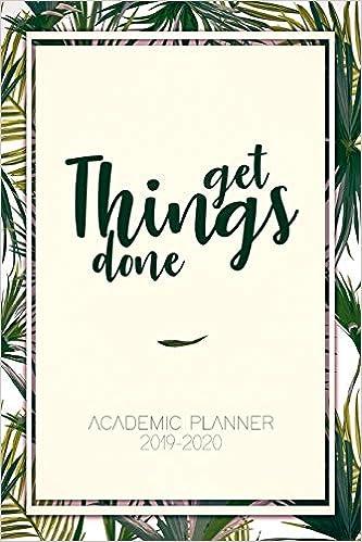 Academic Planner 2019-2020: Acadamic Planner, Student ...