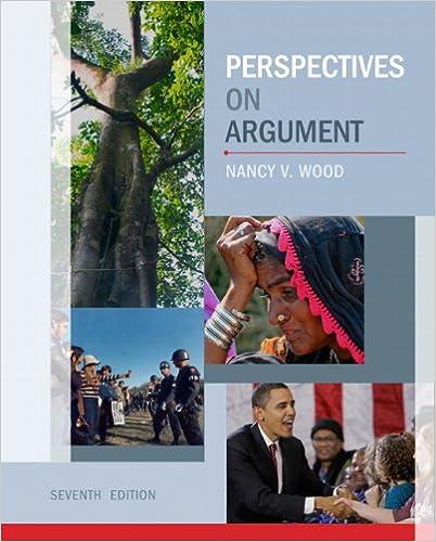 Amazon Com Perspectives On Argument 9780205060337 Wood Nancy V Miller James Books