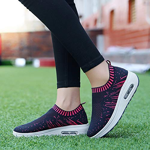 Zomine bleu respirantes chaussures pour marine de femmes randonnée de sport Chaussures zxrqwHgz