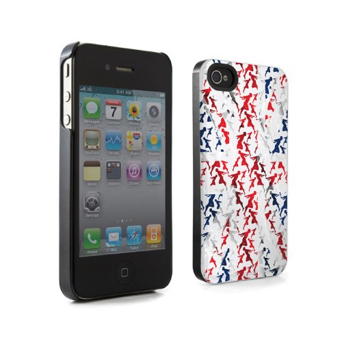Proporta Apple iPhone 4 Union Jack Hülle / Hartschale / Case + Kostenlose Displayschutzfolie