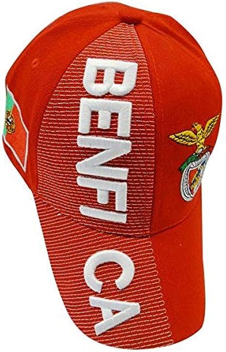 Rouge//Gris Unisexe Adulte Taille Unique Benfica SL R/éversible Beanie