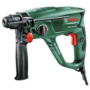 Bosch 06033A9370 PBH 2100 RE Rotary Hammer Drill, Green